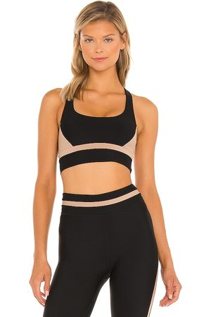 The Upside Play Colour Block Sandy Sports Bra in .