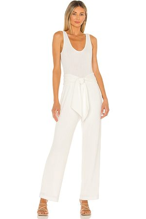 Saylor X REVOLVE Molly Jumpsuit in Ivory.