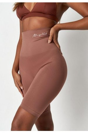 Missguided Nude Coco Light Control Lingerie Shorts