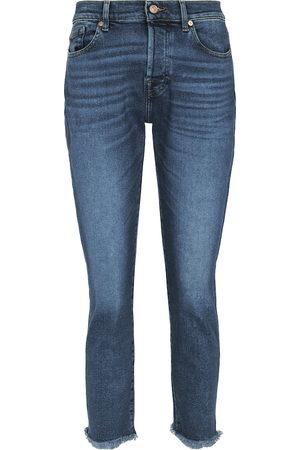 7 for all Mankind Women Boyfriend Jeans - Asher mid-rise boyfriend jeans
