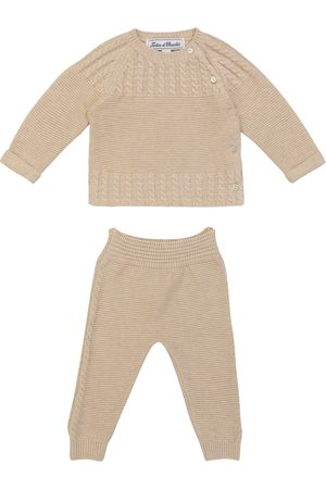 Tartine Et Chocolat Baby cotton-blend sweater and pants set