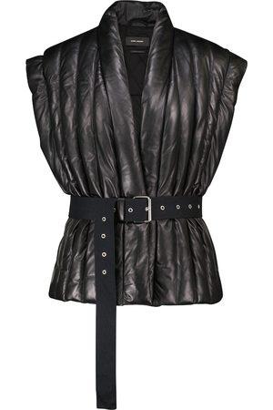 Isabel Marant Women Leather Jackets - Ajali leather jacket