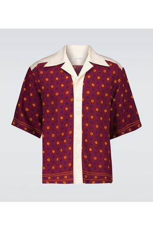 WALES BONNER Men Short sleeves - Short-sleeved bowling shirt