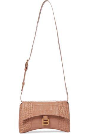 Balenciaga Hourglass Small Mini leather shoulder bag