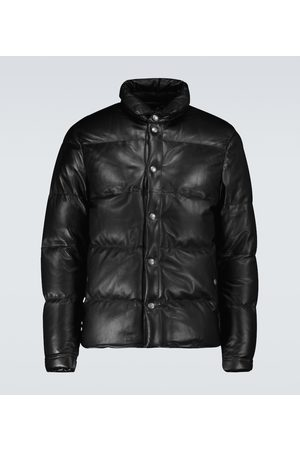 Tom Ford Down-filled leather jacket