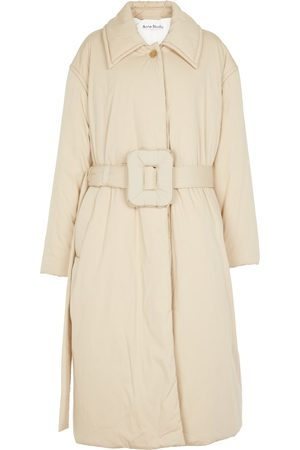 Acne Studios Women Trench Coats - Padded cotton-blend trench coat