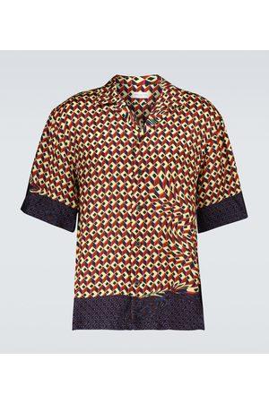 DRIES VAN NOTEN Men Short sleeves - Printed short-sleeved shirt