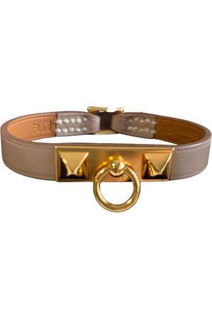 Hermès Rivale leather bracelet