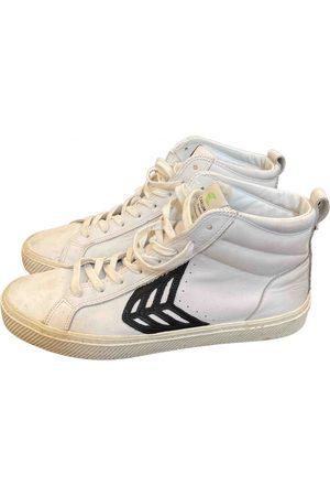 CARIUMA Leather high trainers