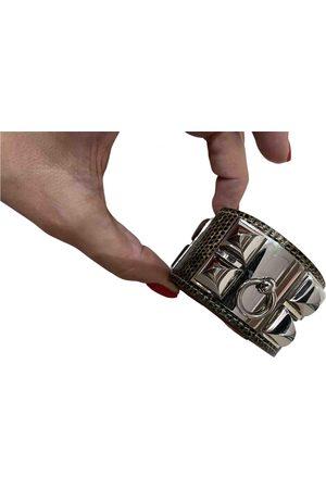 Hermès Médor silver bracelet