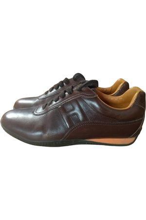 Hermès Trail leather trainers