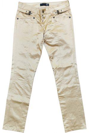 Roberto Cavalli Silk trousers