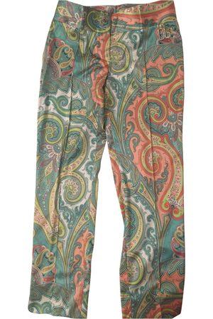 Dolce & Gabbana Silk chino pants