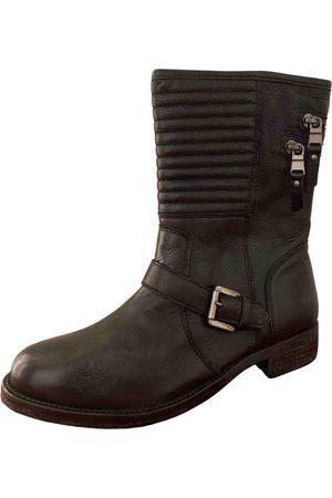 Nubikk Leather Ankle Boots