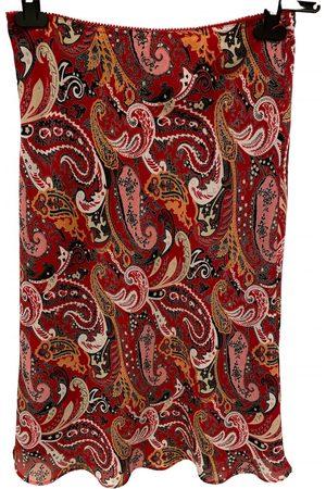 Esprit Linen mid-length skirt
