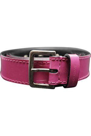 Dior Patent leather belt