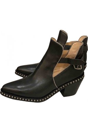 Coach Leather ankle boots