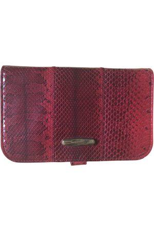Diane von Furstenberg Leather clutch bag