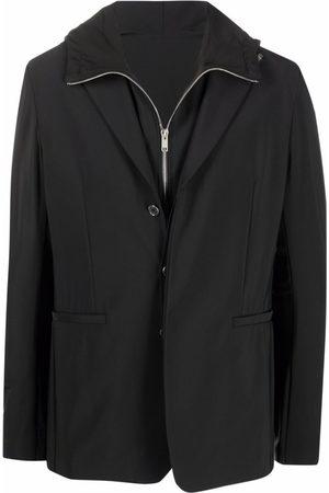 Givenchy Single-Breasted Layered Blazer