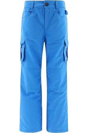 Marine Serre Survival Cargo Trousers Cobalt