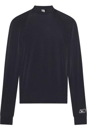 Balenciaga Fitted Long-Sleeve High-Neck Top