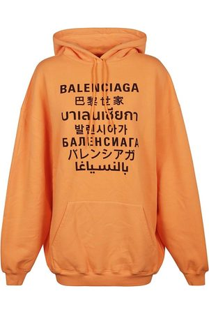 Balenciaga Languages& Cotton Hoodie