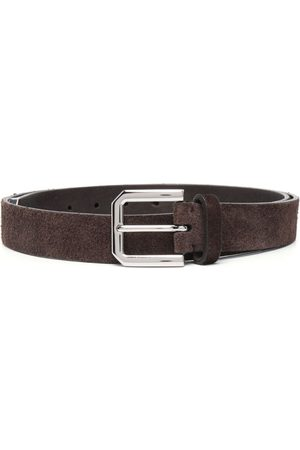 Brunello Cucinelli Buckle-Fastened Leather Belt
