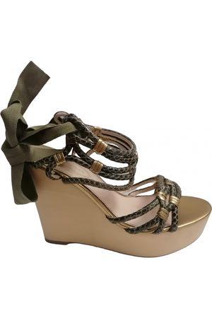 ELIE TAHARI Leather sandals