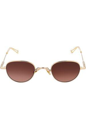 PETER AND MAY Guru round frame sunglasses