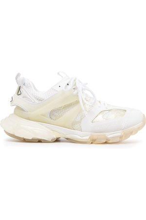 Balenciaga Track Clear Sole Sneakers In Neutrals