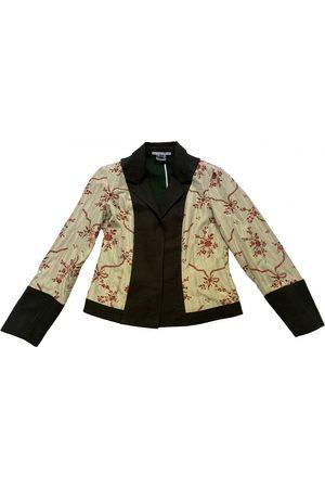 LIVIANA CONTI Silk short vest