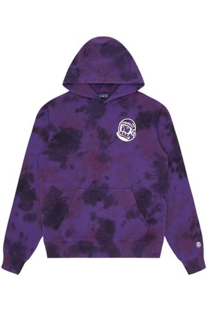 Billionaire Boys Club Tie Dye Popover Hood (Purple)