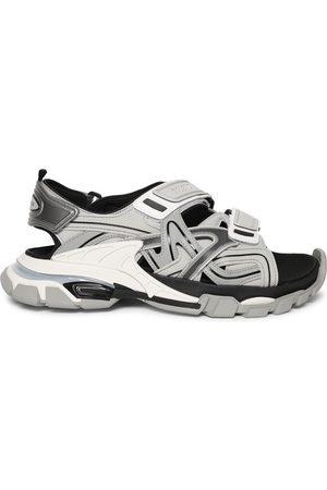Balenciaga Track Sandals, Grey