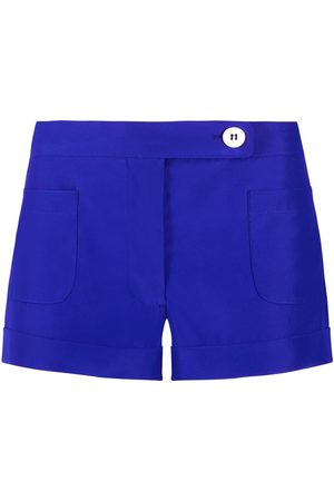 SERENA BUTE The Tailored Shorts - Sapphire Blue