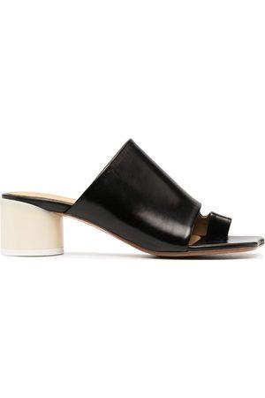 MM6 BY MAISON MARGIELA Toe-Ring Heeled Sandals