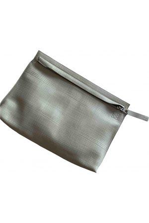 Loewe Barcelona leather clutch bag