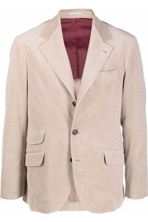 Brunello Cucinelli Corduroy Single-Breasted Blazer