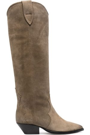 Isabel Marant Taupe- 40Mm Knee-High Boots