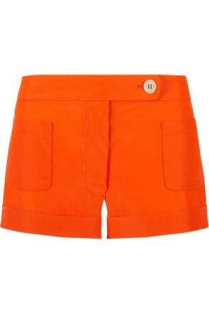 SERENA BUTE The Tailored Shorts - Jaffa Orange