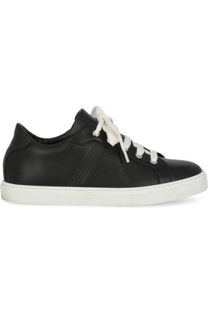 Hermès Leather trainers