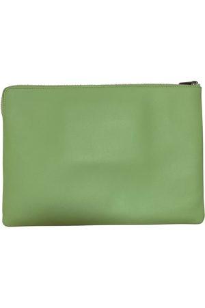 Céline Trio leather clutch bag