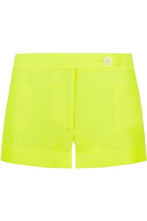 SERENA BUTE The Tailored Shorts - Neon Yellow