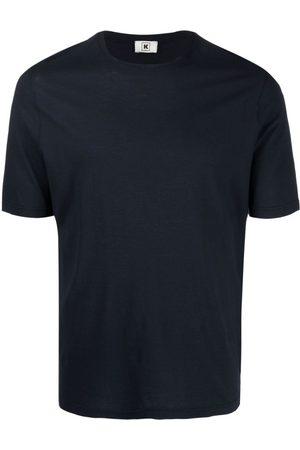Kired Midnight Cotton Plain Crew-Neck T-Shirt