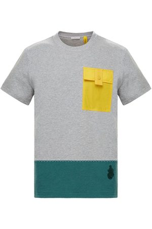 Moncler Genius X Jw Anderson Grey Short Sleeve Shirt