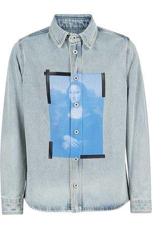 OFF-WHITE Mona Lisa Denim Shirt