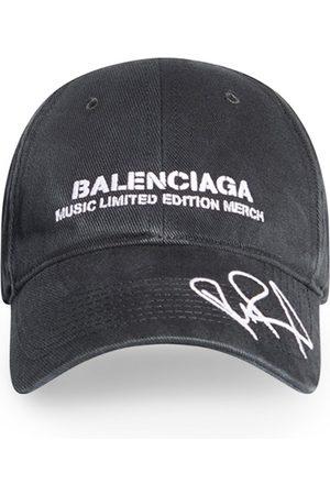 Balenciaga X Rupaul Cap Black And White