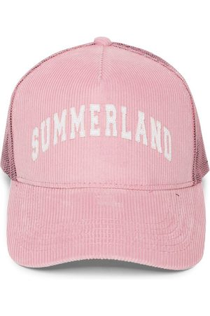 Nahmias Summerland Corduroy Cap, Pink