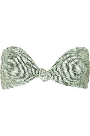 BOUND by bond-eye The Sahara Bandeau Bikini Top Mint