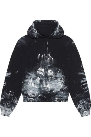 Balenciaga Painter Fitted Hoodie And White