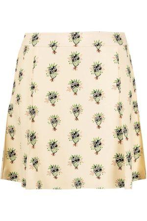 Chloé Floral Bouquet Printed Mini Skirt